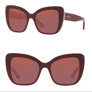 🔥 1 hr sale Dolce & Gabbana - cat eye sunglasses